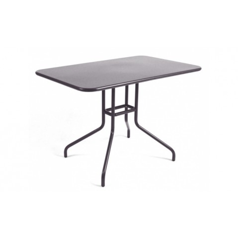 Table rabattable PÉTALE de Fermob 110 cm, Prune