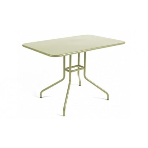 Table rabattable PÉTALE de Fermob 110 cm tilleul