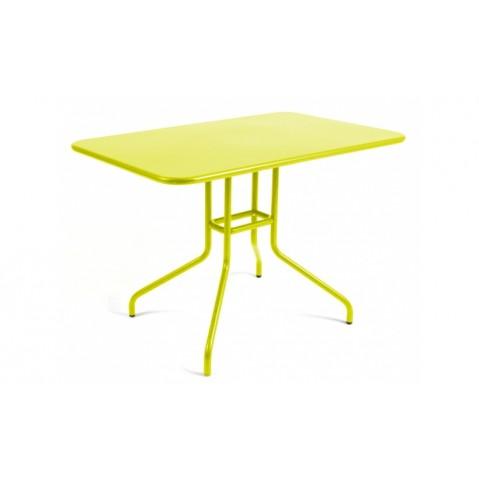 Table rabattable PÉTALE de Fermob 110 cm verveine