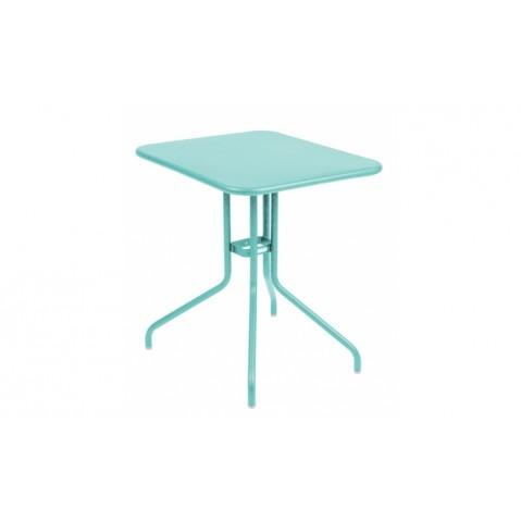 Table rabattable PÉTALE de Fermob 60 cm, Bleu lagune