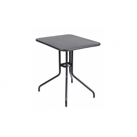 Table rabattable PÉTALE de Fermob 60 cm, Carbone