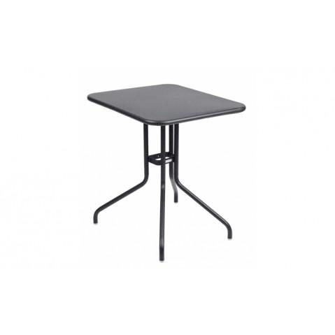 Table rabattable PÉTALE de Fermob 60 cm, Carbone