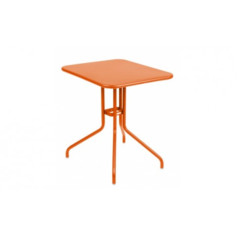 Table rabattable PÉTALE de Fermob 60 cm carotte