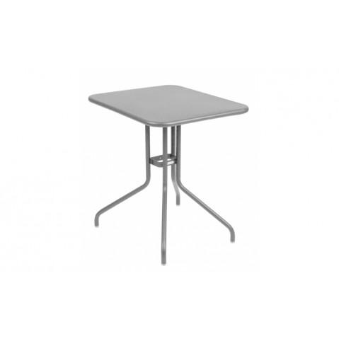 Table rabattable PÉTALE de Fermob 60 cm gris métal