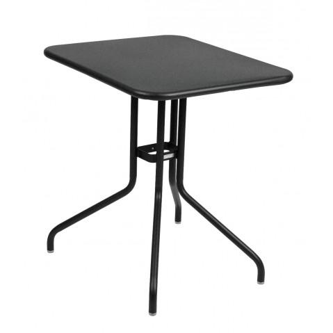 Table rabattable PÉTALE de Fermob 60 cm noir réglisse
