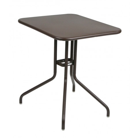 Table rabattable PÉTALE de Fermob 60 cm rouille