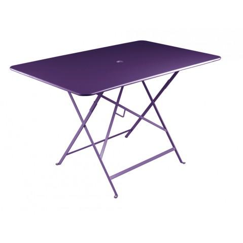 Table rectangulaire 117 x 77 cm BISTRO de fermob, Aubergine