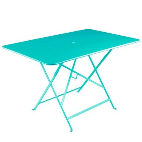 Table rectangulaire 117 x 77 cm BISTRO de fermob Bleu lagune