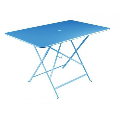 Table rectangulaire 117 x 77 cm BISTRO de fermob, Bleu turquoise