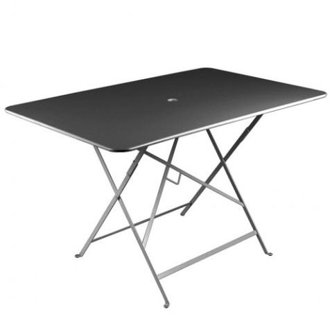 Table rectangulaire 117 x 77 cm BISTRO de fermob Carbone