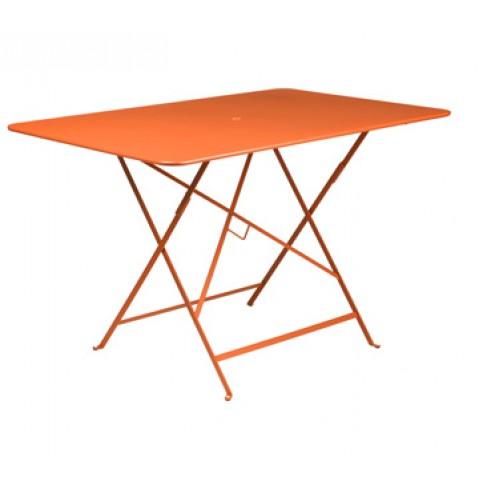 Table rectangulaire 117 x 77 cm BISTRO de fermob, Carotte