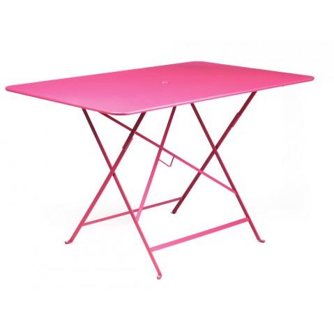 Table rectangulaire 117 x 77 cm BISTRO de fermob, Fuchsia