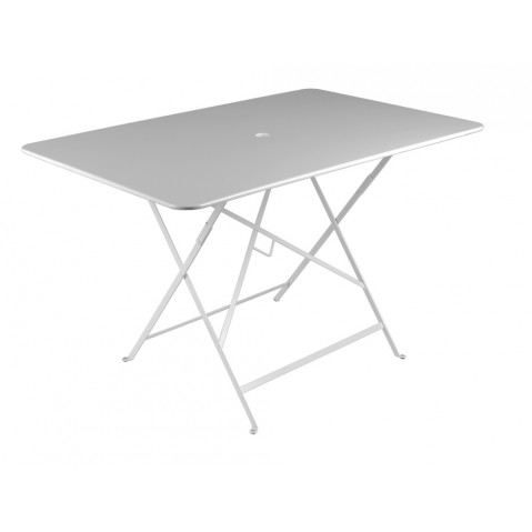Table rectangulaire 117 x 77 cm BISTRO de fermob, Gris métal