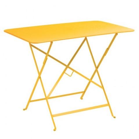 Table rectangulaire 117 x 77 cm BISTRO de fermob, Miel