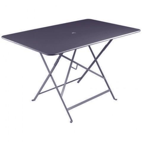 Table rectangulaire 117 x 77 cm BISTRO de fermob, Prune