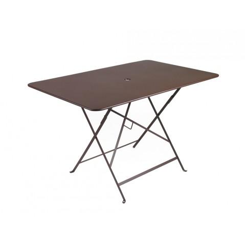 Table rectangulaire 117 x 77 cm BISTRO de fermob, Rouille