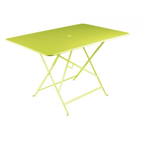 Table rectangulaire 117 x 77 cm BISTRO de fermob, Verveine
