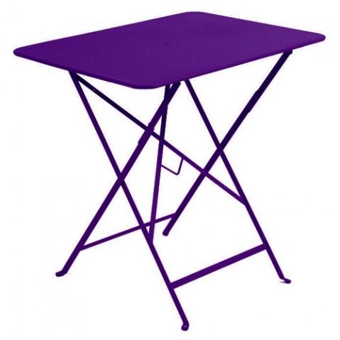 Table rectangulaire 77 x 57 cm Bistro de Fermob, Aubergine