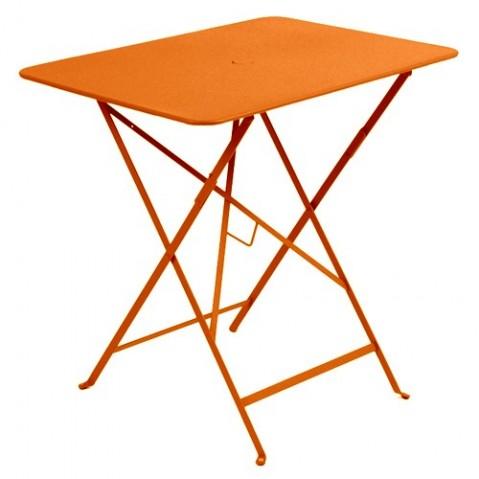 Table rectangulaire 77 x 57 cm Bistro de Fermob, Carotte