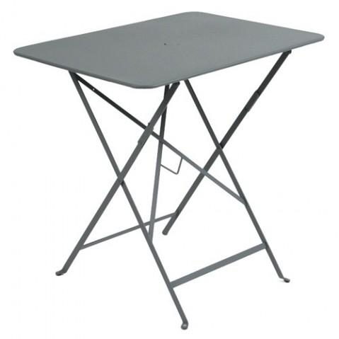 Table rectangulaire 77 x 57 cm Bistro de Fermob, Gris orage