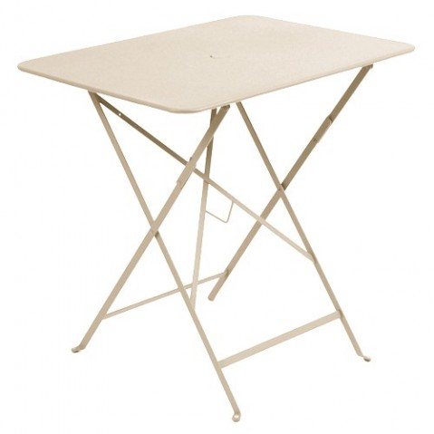 Table rectangulaire 77 x 57 cm Bistro de Fermob, Lin