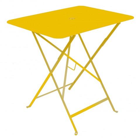 Table rectangulaire 77 x 57 cm Bistro de Fermob, Miel