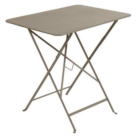 Table rectangulaire 77 x 57 cm Bistro de Fermob, Muscade