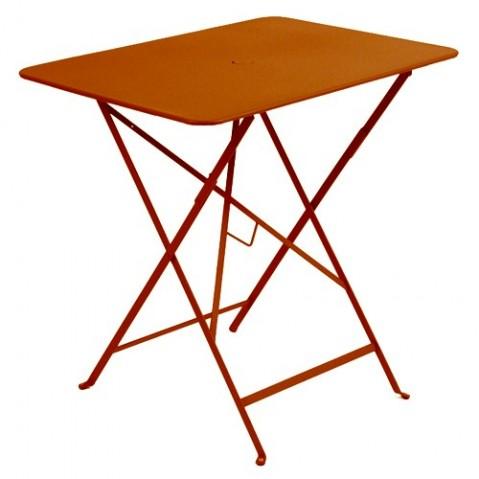 Table rectangulaire 77 x 57 cm Bistro de Fermob, Paprika