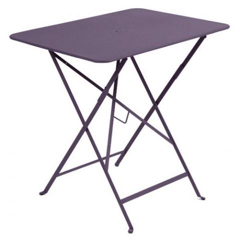 Table rectangulaire 77 x 57 cm Bistro de Fermob, Prune