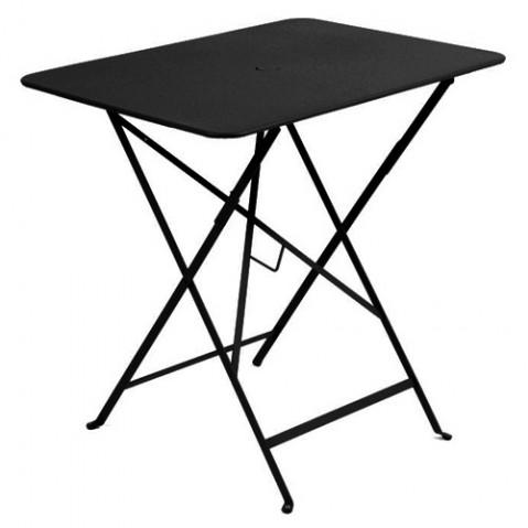 Table rectangulaire 77 x 57 cm Bistro de Fermob, Réglisse