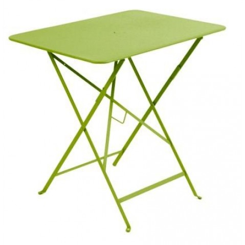 Table rectangulaire 77 x 57 cm Bistro de Fermob, Verveine