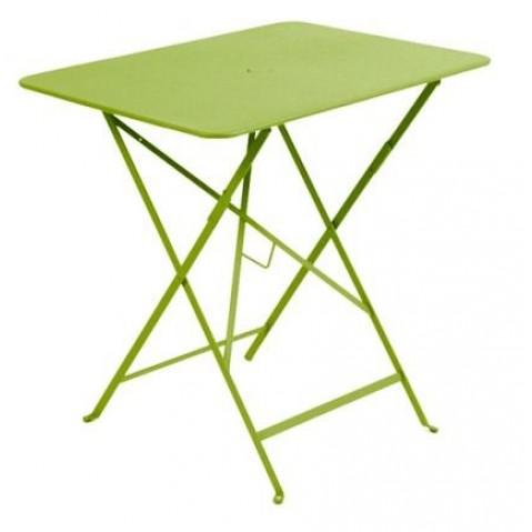 Table rectangulaire 77 x 57 cm Bistro de Fermob, Verveine