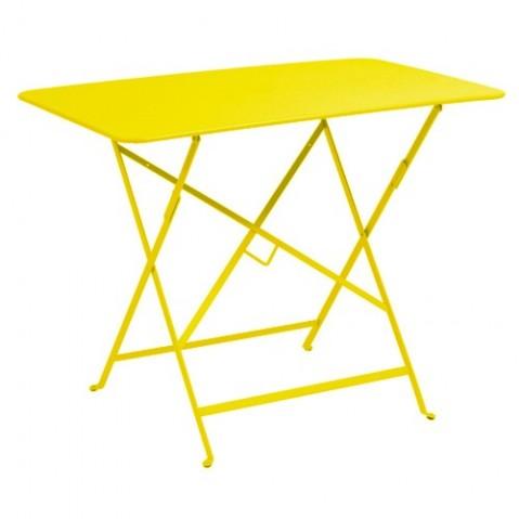 Table rectangulaire 97 x 57 cm bistro de fermob 24 coloris for Table de 24
