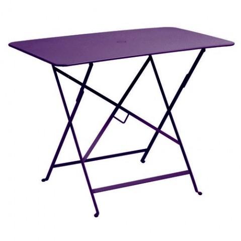 Table rectangulaire 97 X 57 CM BISTRO de Fermob, Aubergine