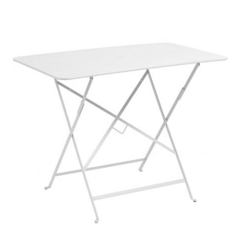 Table rectangulaire 97 X 57 CM BISTRO de Fermob, Blanc coton