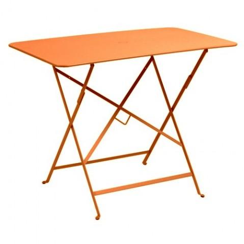 Table rectangulaire 97 X 57 CM BISTRO de Fermob, Carotte