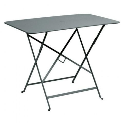 Table rectangulaire 97 X 57 CM BISTRO de Fermob, Gris orage