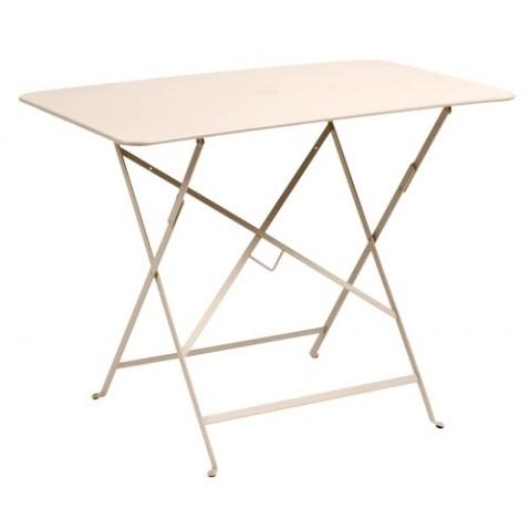 Table rectangulaire 97 X 57 CM BISTRO de Fermob, Lin