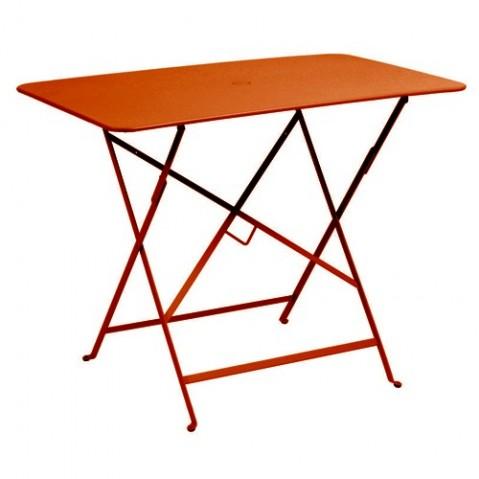 Table rectangulaire 97 X 57 CM BISTRO de Fermob, Paprika
