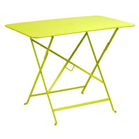 Table rectangulaire 97 X 57 CM BISTRO de Fermob, Verveine