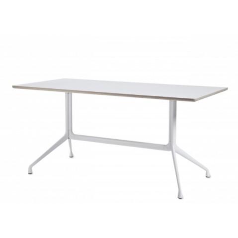 Table rectangulaire AAT10 de Hay, Blanc, L.160 x P.80 x H.73