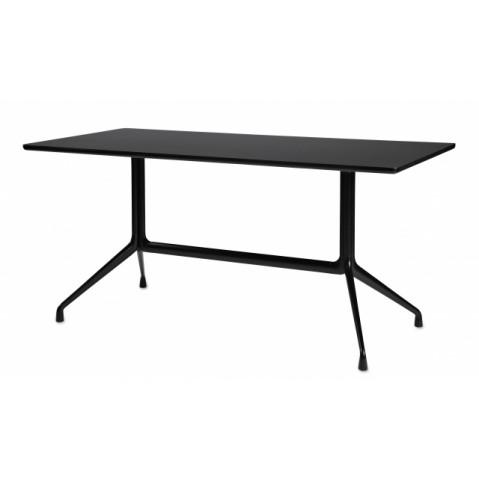 Table rectangulaire AAT10 de Hay, Noir, L.220 x P.90 x H.73