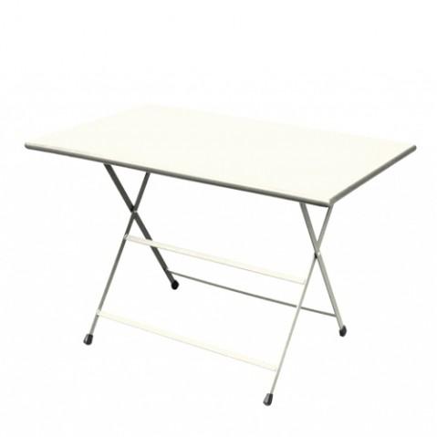 Table rectangulaire ARC EN CIEL de Emu 110 cm blanc