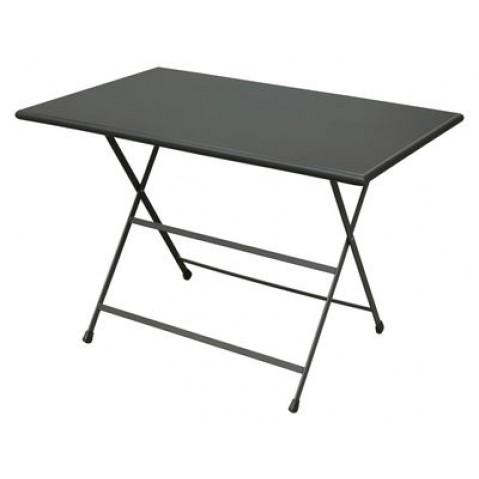 Table rectangulaire ARC EN CIEL de Emu 110 cm fer ancien