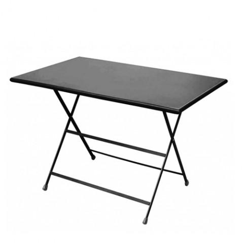 Table rectangulaire ARC EN CIEL de Emu 110 cm noir