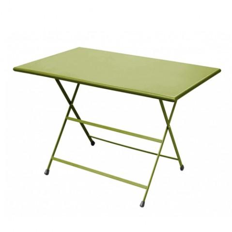 Table rectangulaire ARC EN CIEL de Emu 110 cm vert