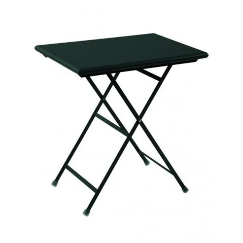 Table rectangulaire ARC EN CIEL de Emu 70 cm noir