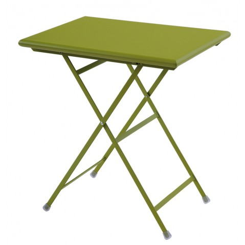 Table rectangulaire ARC EN CIEL de Emu 70 cm vert