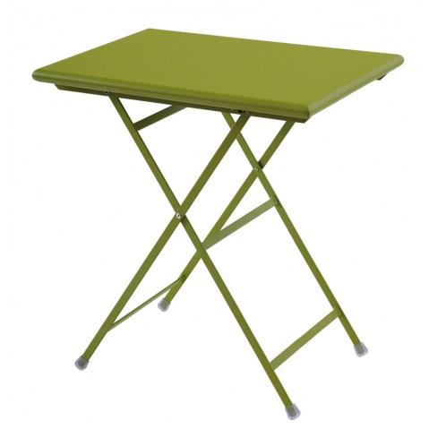Table rectangulaire ARC EN CIEL de Emu 70 cm vert