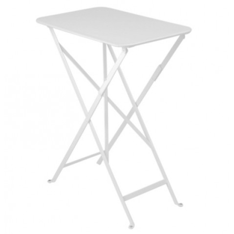 Table rectangulaire BISTRO 37 x 57 cm de Fermob , Blanc coton